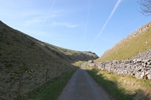 The road back from the cairn